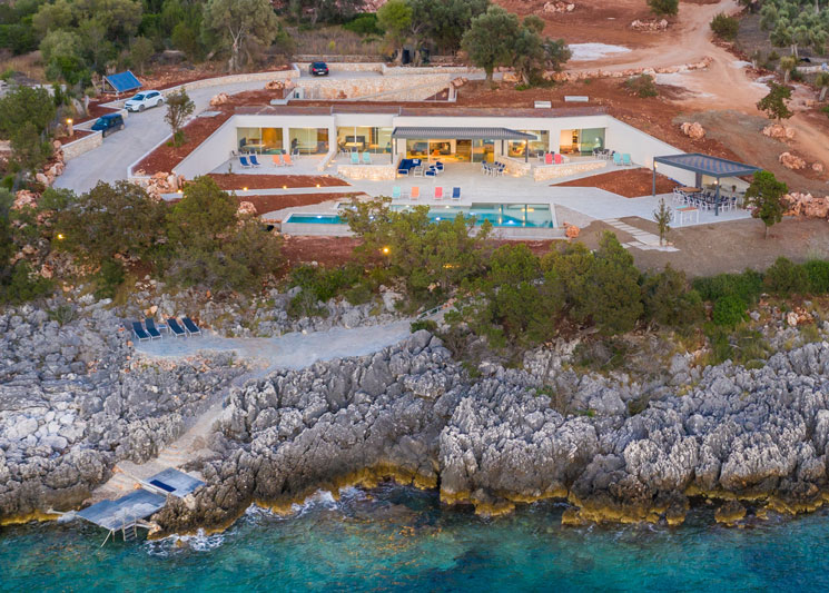 Luxury Villa in Lefkada YANA by the sea